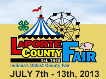 LaPorte County Fair 2013